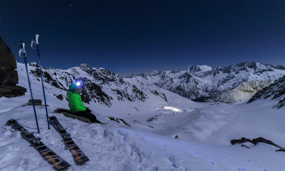 Night Skiing in Ponte di Legno