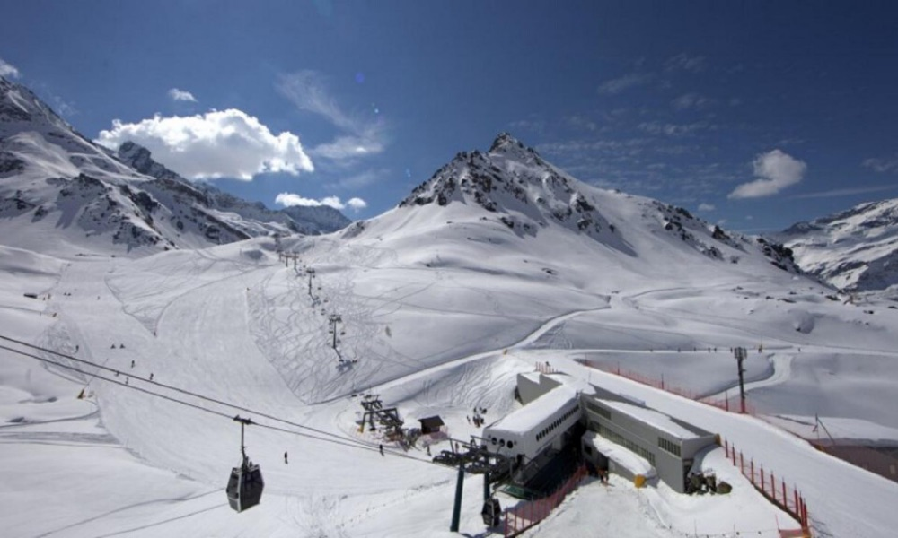 Piste del Monterosa Ski