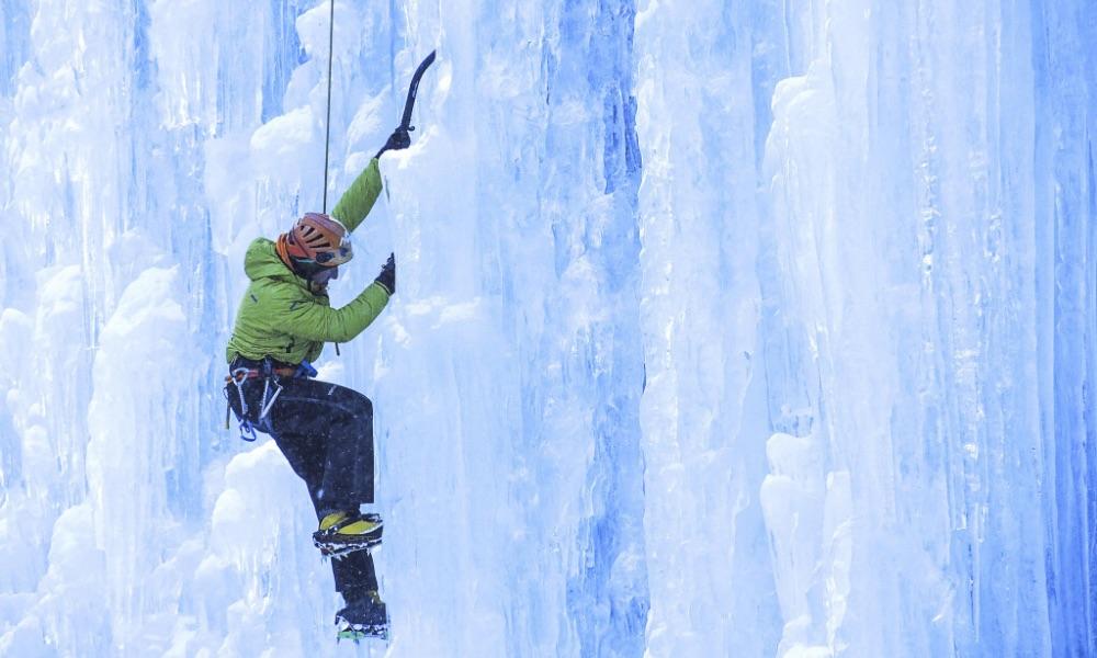 Esperienza di Ice Climbing