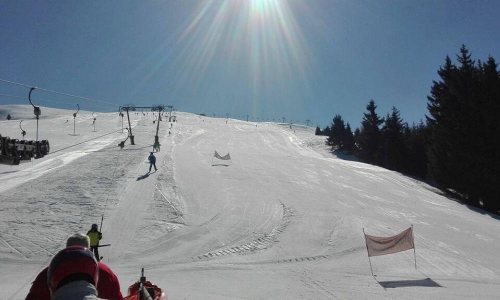 Pista sci del Monte Pora