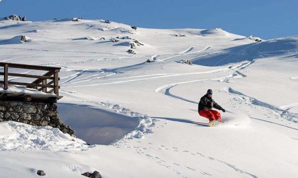 Summer skiing in Passo dello Stelvio