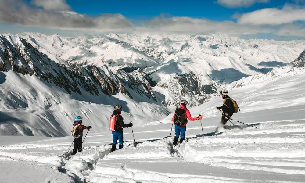 Ski mountaineering in Ponte di Legno Tonale