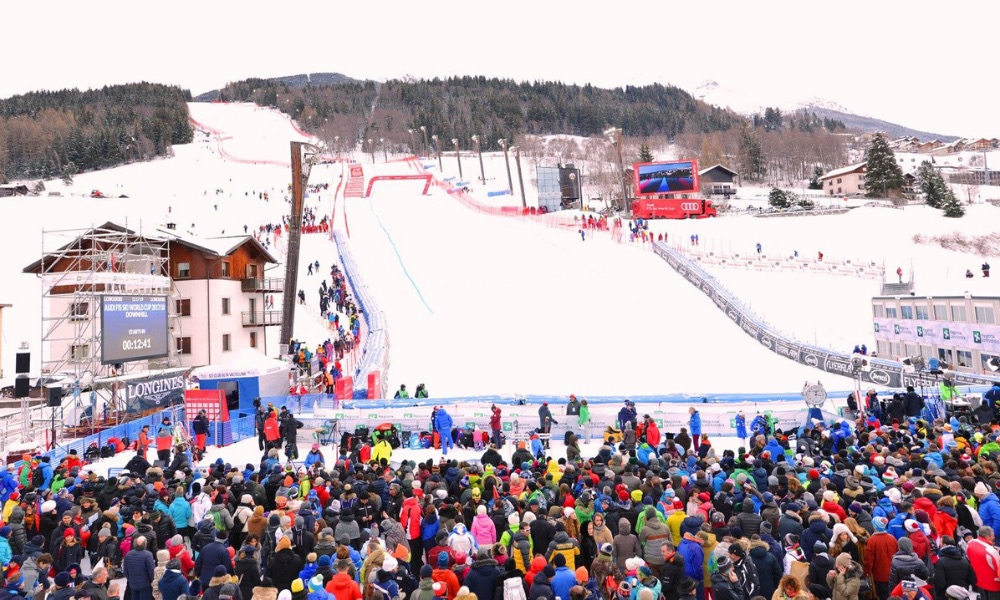 World Cup Slope in Bormio